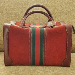 Rare Gucci Train Case Vanity Vintage Authentic